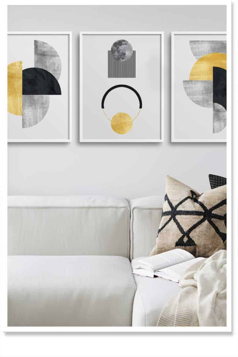 Geometric Wall Art Set